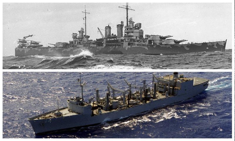 USS Wichita (CA-45) and USS Wichita (AOR-1).