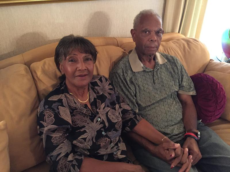 Ruby and Orville Bennett in their Wichita home. The couple has been married for 51 years; Orville was diagnosed with Alzheimer's four years ago.