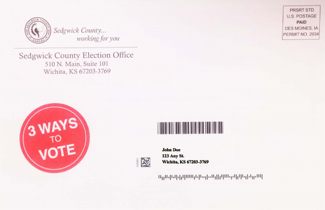 sedgwick county to send out advance voting flyers kmuw