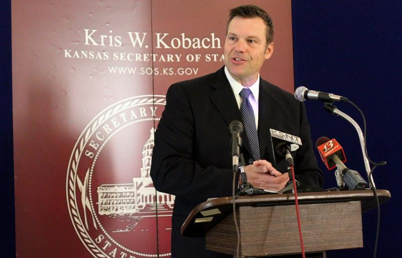 A federal magistrate judge on Wednesday refused to reconsider his order fining Kansas Secretary of State Kris Kobach $1,000 for misleading the court.