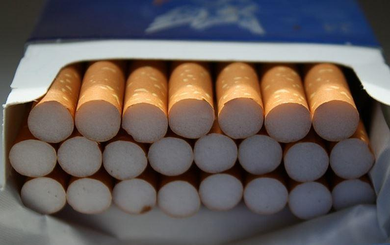 Gov. Sam Brownback's budget proposal would sell the state's future payments from tobacco companies to plug budget holes for the next two years. Brownback also proposes a $1 per pack increase in the cigarette tax.