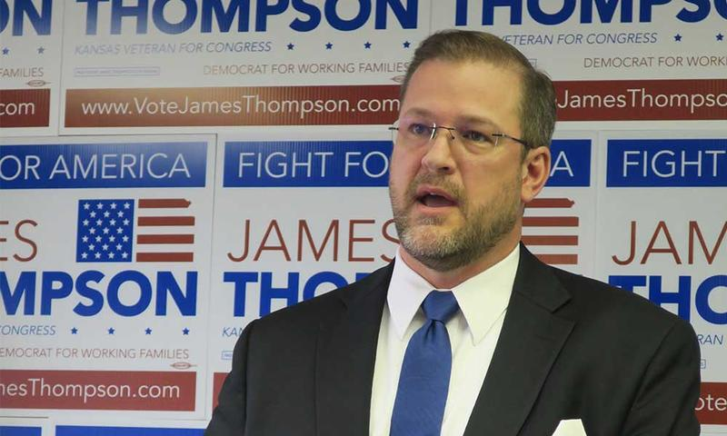 James Thompson is getting some national support in his second bid for the 4th Congressional District seat.