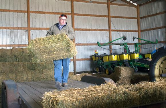Iowa Farmers Union president Aaron Lehman, of Polk County, says farmers, politicians and consumers will need to work together to get the best possible farm bill.