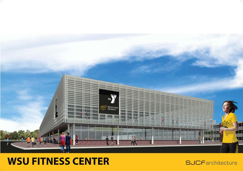A rendering of the new YMCA fitness facility being considered for WSU's Innovation Campus.