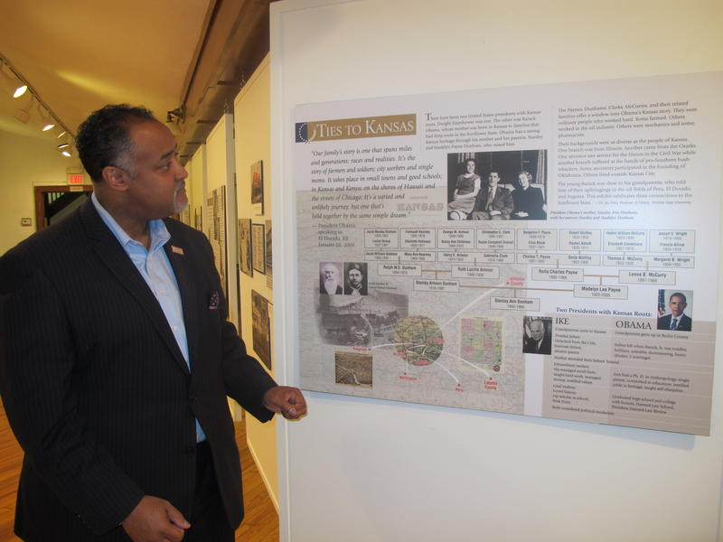 Mark McCormick, executive director of the Kansas African American Museum, explains some of the Kansas roots of President Barack Obama.