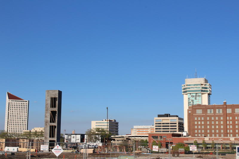 The River Vista building is joining the Wichita skyline. The city wants to complement development around the west bank and Delano through public improvement projects financed by two separate tools, STAR bonds and TIF.