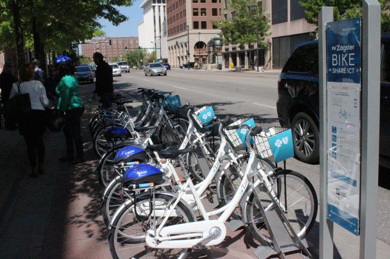 Bike Share ICT, which announced in the spring it would expand, is rolling out new bike stations and more than 100 new bikes.