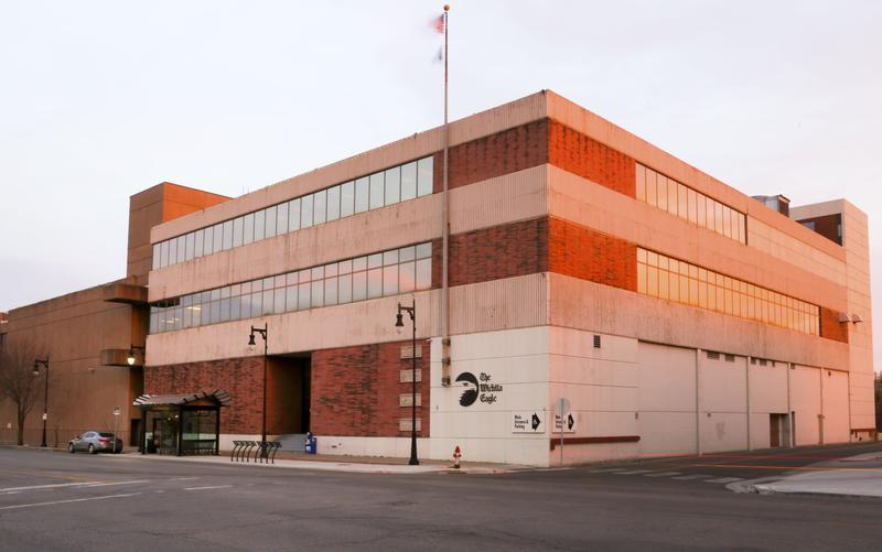 The Wichita Eagle's previous building on Douglas.