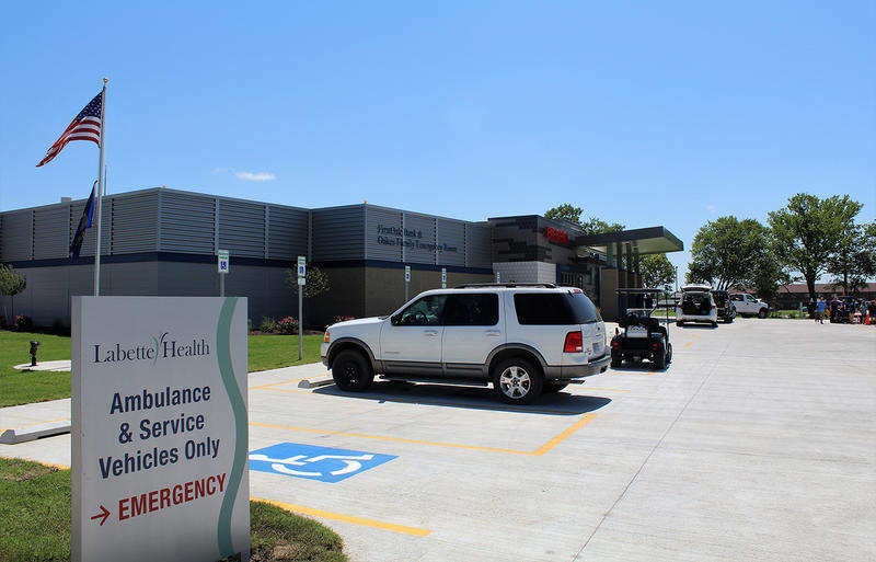 The new $8 million Independence Healthcare Center operates as an extension of Labette Health, a regional hospital in nearby Parsons. The center will serve Independence, a town of about 8,800 people that has been without a hospital for about two years.