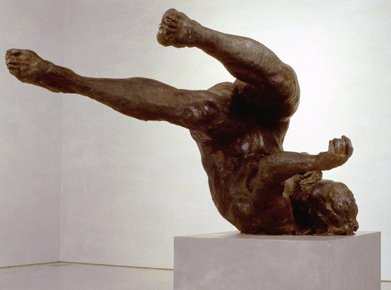 Tumbling Woman, 2001 by Eric Fischl