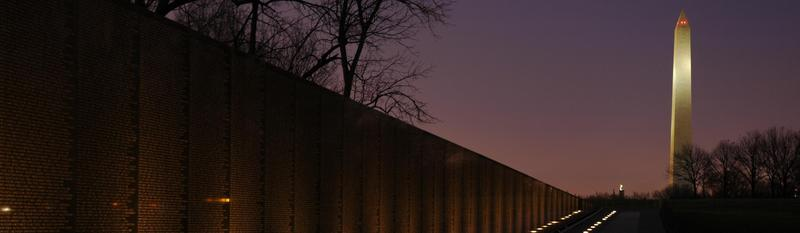 Vietnam Veterans Memorial, 1981 by Maya Lin