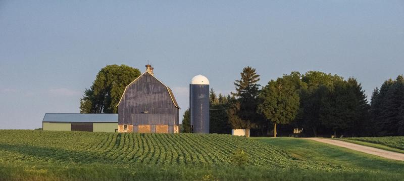 This Iowa farm was photographed in August, when Agriculture Secretary Sonny Perdue was on a five-state tour to gather input on the 2018 farm bill.