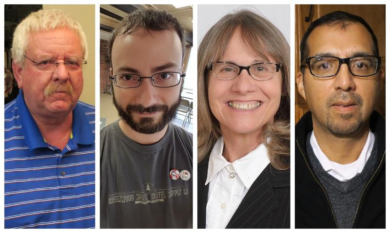 District 5 incumbent Mike Rodee, along with newly elected Wichita school board members Ben Blankley, District 1, Julie Hedrick, District 2 and Ron Rosales, District 6 will start their terms in January.