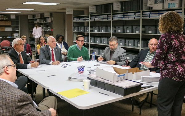 Sedgwick County commissioners voided 23 mail-in ballots at November's election canvass.