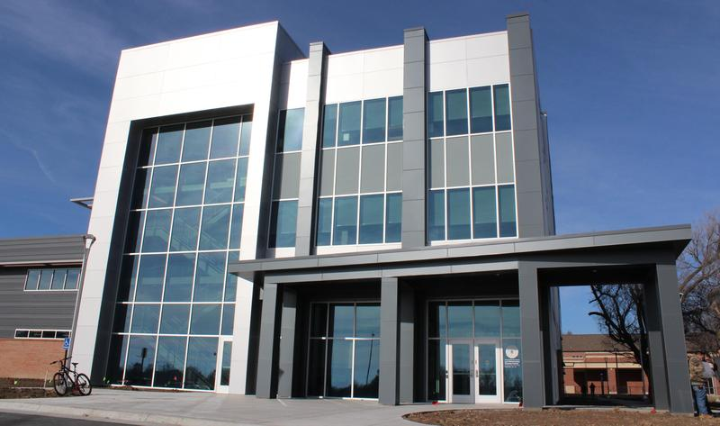 The nearly $10 million Law Enforcement Training Center is located on Wichita State's Innovation Campus.