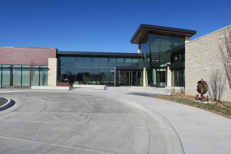 It took about a year and a half to build Mark Arts' new building at 13th Street and Rock Road in east Wichita.