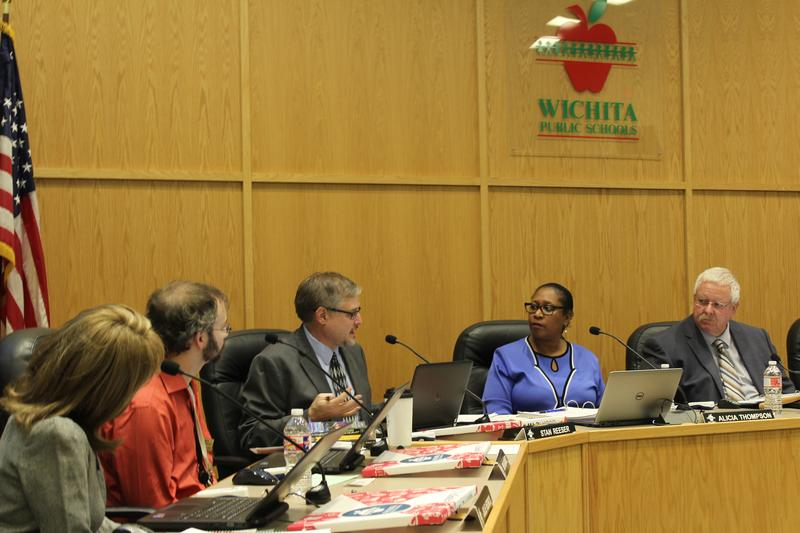 The Wichita School Board holds a special meeting Thursday to get a budget update.