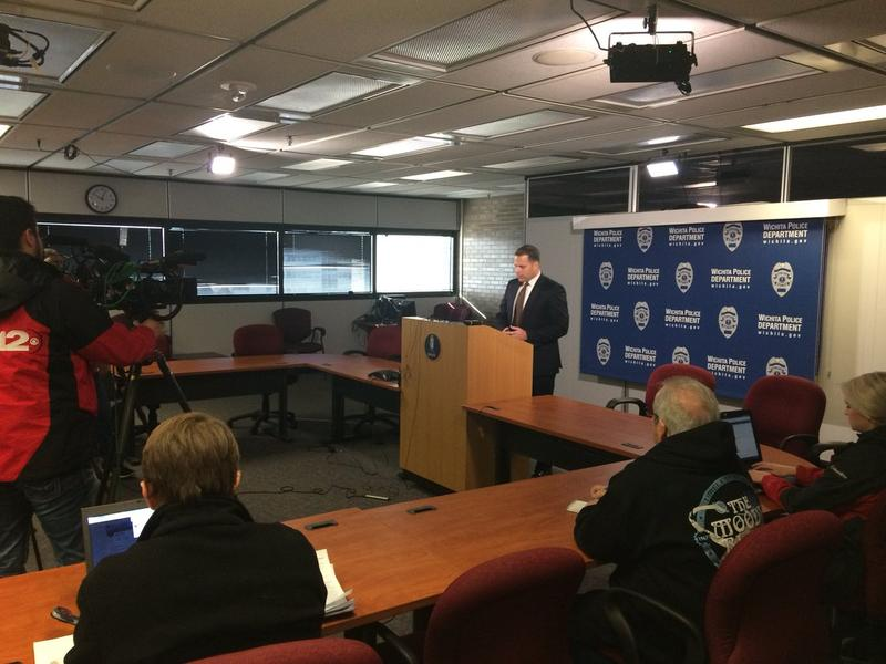 Wichita Police Chief Gordon Ramsay discussed the indictment of two former police officers at a media briefing Friday.
