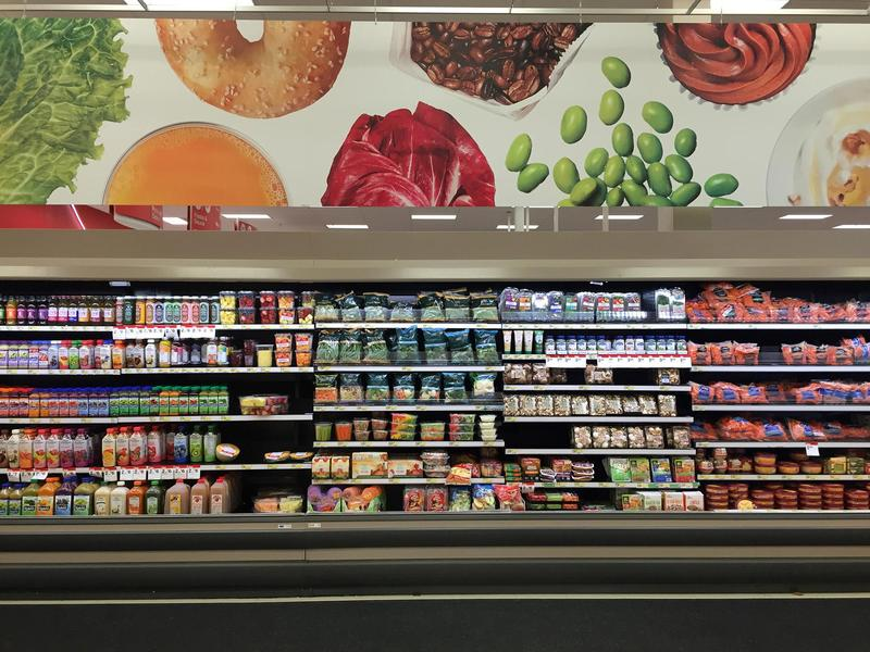 People who rely on federal food benefits would have less to spend at the grocery store under President Trump's new budget proposal, which suggests providing some benefits in the form of shelf-stable food.
