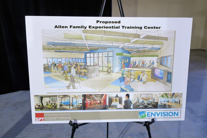 Envision is building a $3.1 million workforce training center inside its downtown Wichita headquarters.