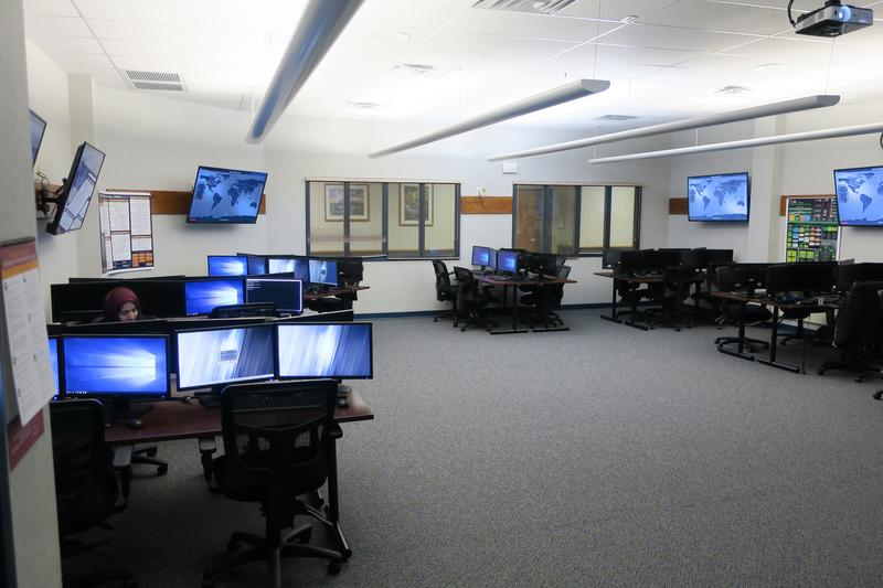 Friends University opened a state-of-the-art cybersecurity lab in October.