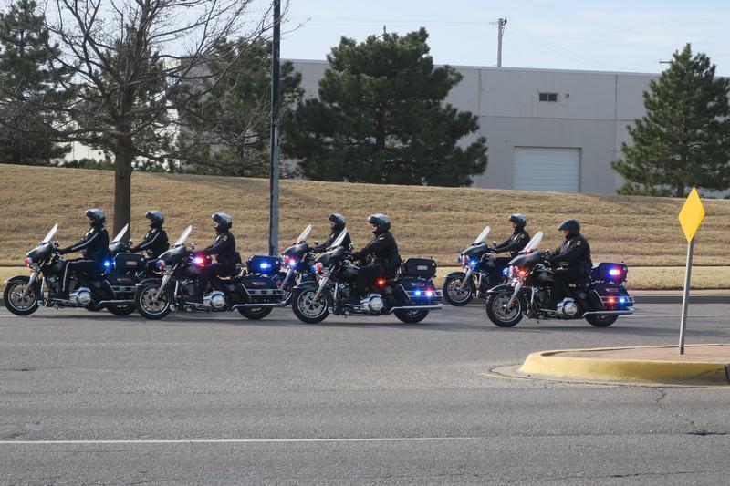 The Wichita Police Department added a seven-member motorcycle unit for traffic patrols.