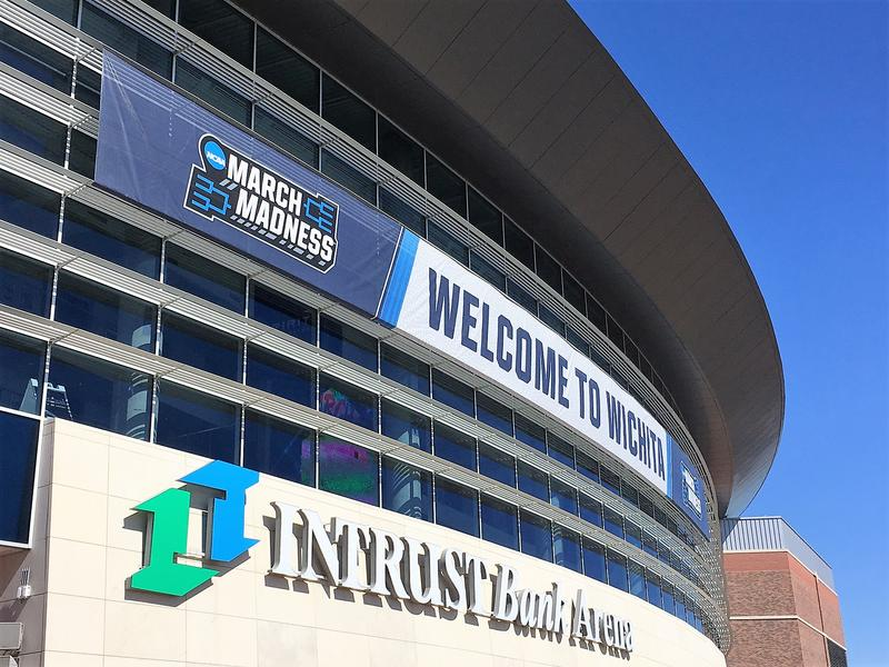 Intrust Bank Arena will host the first and second rounds of the NCAA Men's Basketball Tournament games on Thursday and Saturday.