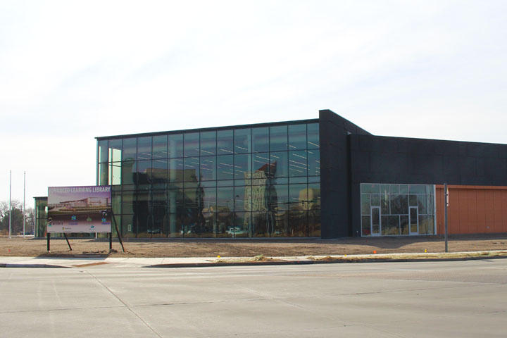 Wichita's new Advanced Learning Library is expected to open in mid-June.