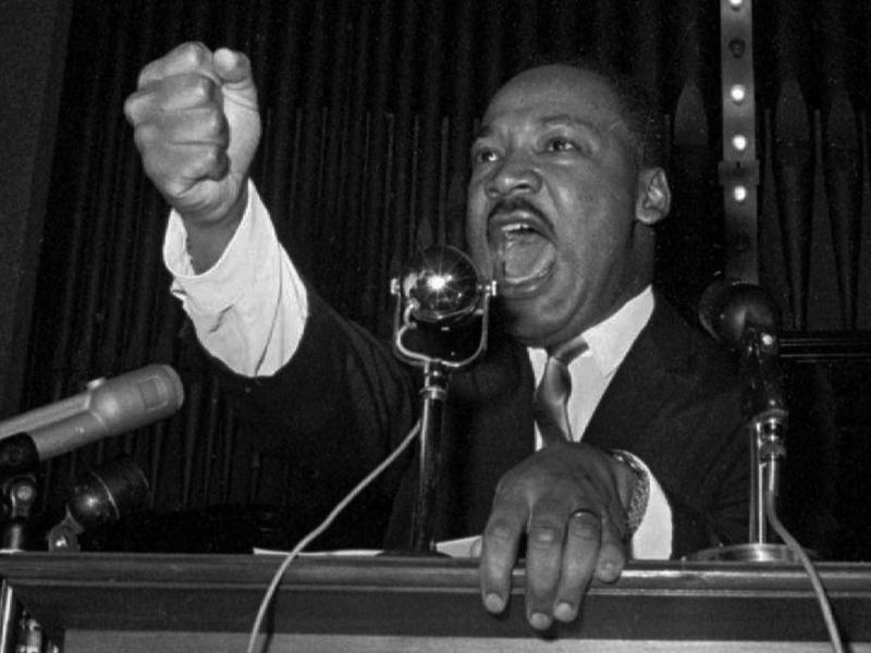 Dr. Martin Luther King Jr. in 1965.