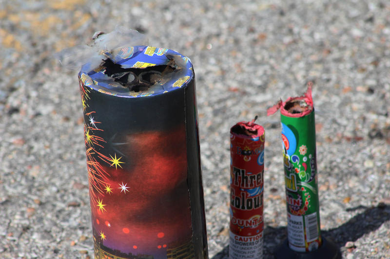 The state reported more than 130 injuries from fireworks during the Independence Day holiday.