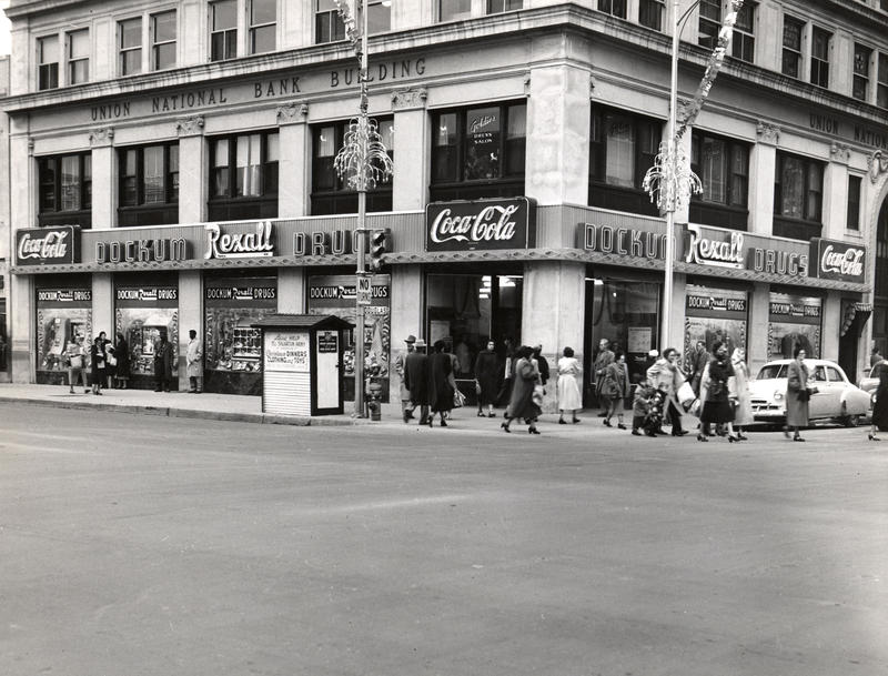 The Dockum Drug Store in 1955, three years before the sit-in.