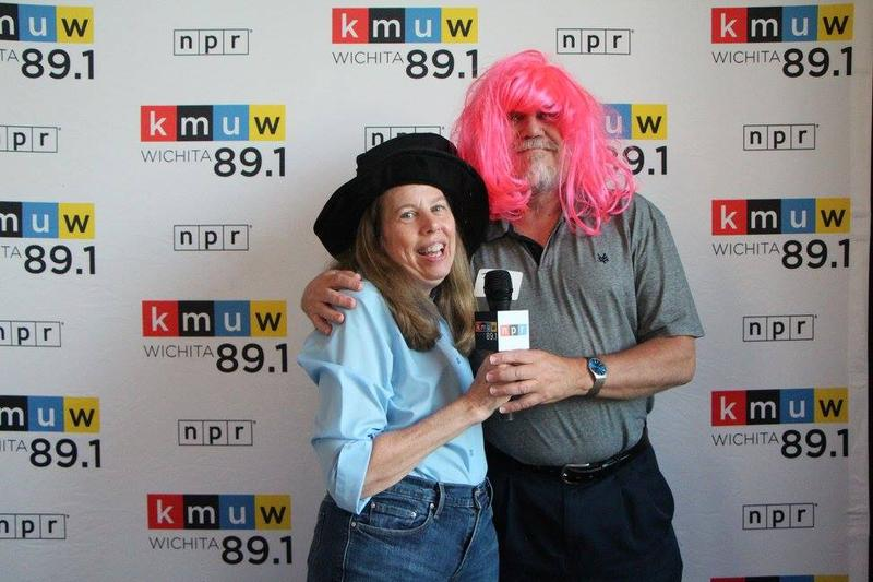 Sustainers Tom and Leanne Chase at KMUW Appreciation Event