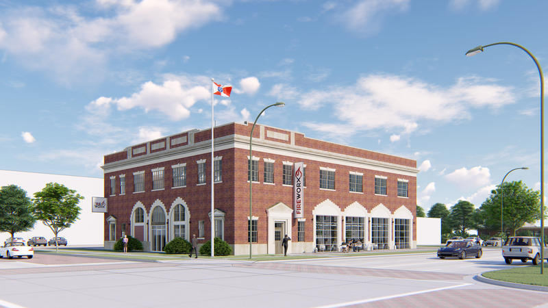Commerce Street Development Partners, LLC plans to rehab the Topeka Street firehouse in Wichita and create a co-working office space.
