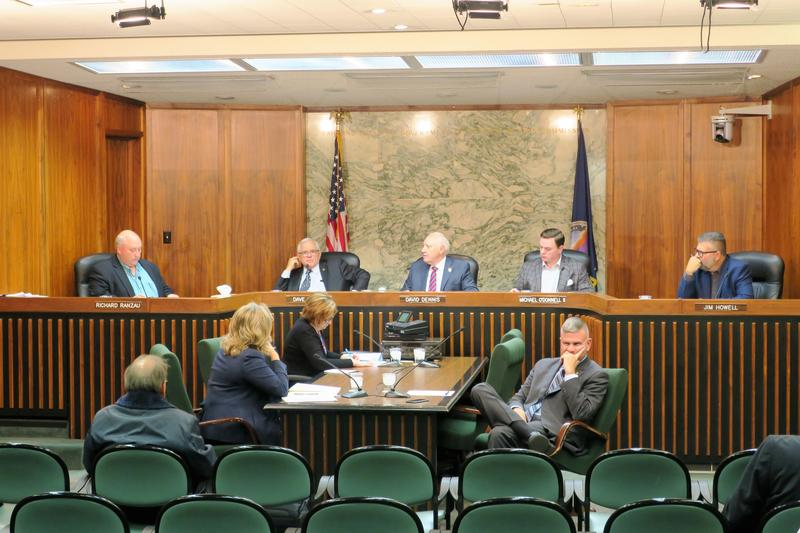 Sedgwick County commissioners voted 3 to 2 Wednesday to put County Counselor Eric Yost on paid administrative leave until further notice.