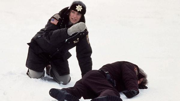 Frances McDormand in the 1996 film Fargo.