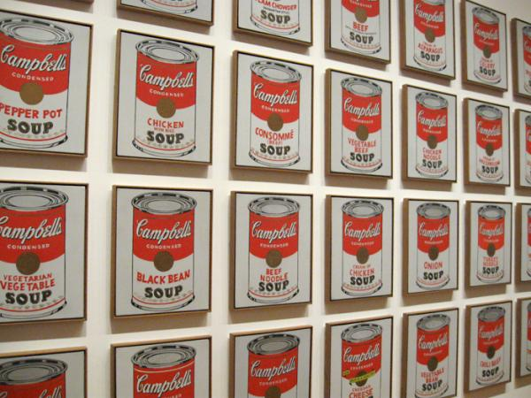 Andy Warhol presented pop culture as fine art, turning meta-art into an act of meta-art appreciation.