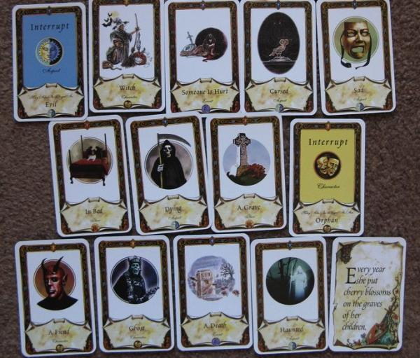 Once Upon A Time game cards