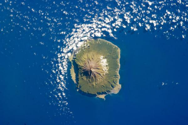 "The island of Tristan da Cunha, known as ""the remotest island."""