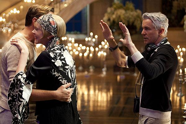 Baz Luhrmann expresses his 'Gatsby' vision to Carey Mulligan and Leonardo DiCaprio