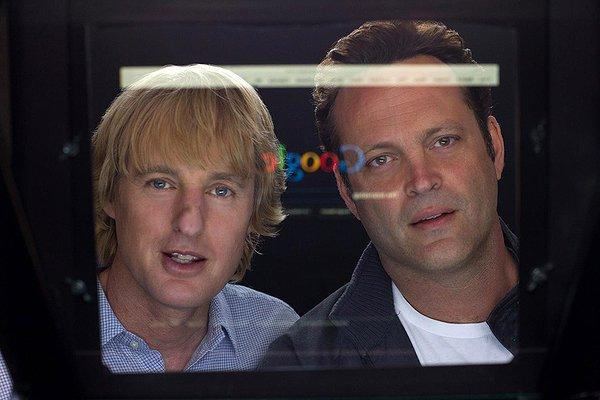 Owen Wilson and Vince Vaughn stare into the abyss