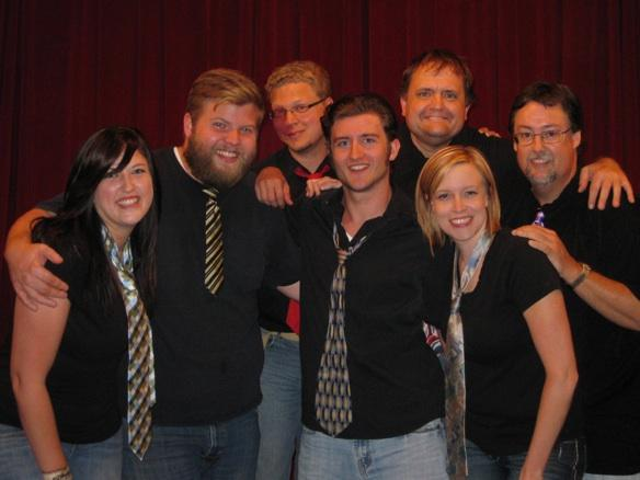The Say What? Improv comedy troupe