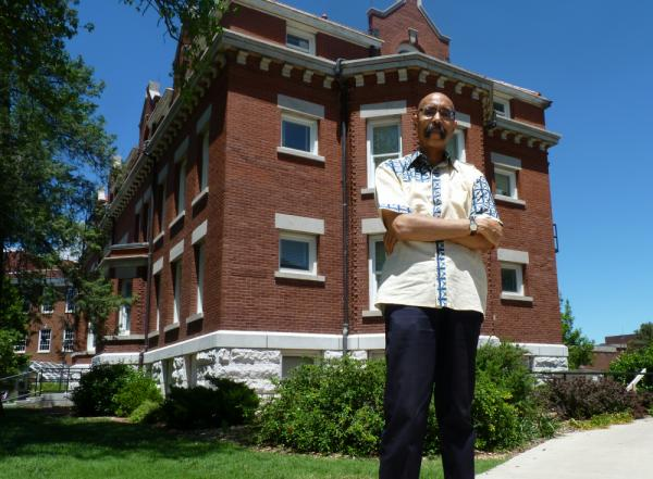 Robert Weems Jr., a history professor at Wichita State University, is researching African-American entrepreneurship in Wichita.