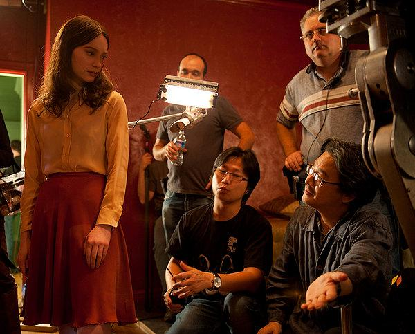 Park Chan-Wook directs Mia Wasikowska in the thriller 'Stoker'