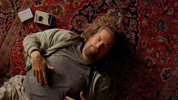 Jeff Bridges and a rug that really ties the room together in 'The Big Lebowski'