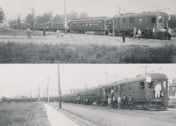 Interurban railroad cars