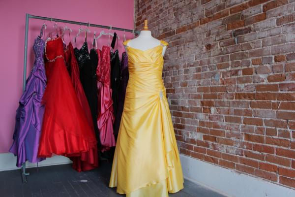 Staff say they often find dresses moved from racks to dressing rooms, or tossed on the floor.