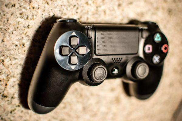 The PlayStation 4's controller and Share button