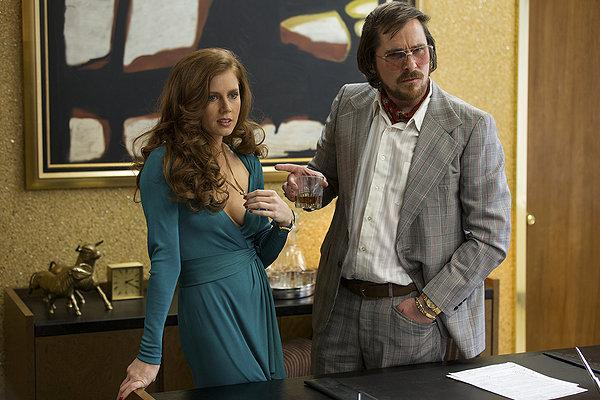 It's complicated for Amy Adams and Christian Bale in 'American Hustle'