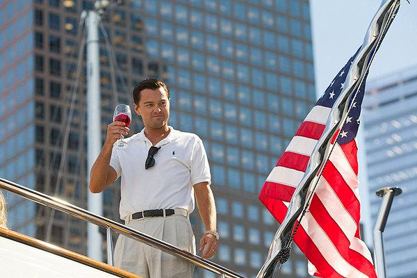 The American Way? Leo DiCaprio revels in the ill-gotten glitz and glamour of 'The Wolf of Wall Street'