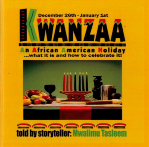 The basic instructional CD, Kwanzaa, What it is and How to Celebrate it by Tasleem Muqtasid is available at Wichita's Roseline's International Enterprise and the Kansas African American Museum.